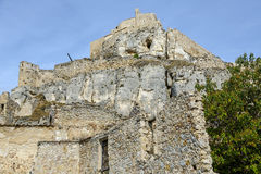 Castle of Morella, in Castellon, Spain Royalty Free Stock Image