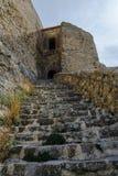Castle of Morella, in Castellon, Spain Stock Photo