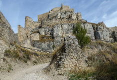 Castle of Morella, in Castellon, Spain Royalty Free Stock Photography