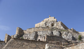 Castle of Morella Stock Photography