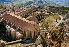 Castle of Morella. Spain Royalty Free Stock Photo