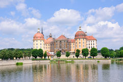 Castle Moritzburg Royalty Free Stock Images