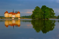 The Castle at Moritzburg in Germany Stock Photo