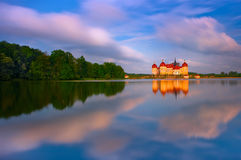 The Castle at Moritzburg in Germany Royalty Free Stock Image