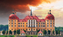 Castle Moritzburg near Dresden, Germany Royalty Free Stock Photo
