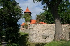 Castle in Most, Czech republic Royalty Free Stock Photography