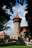 Castle in Most, Czech republic Royalty Free Stock Images