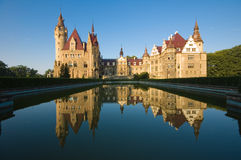 Castle in Moszna Stock Photo