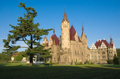 Castle in Moszna Royalty Free Stock Photos