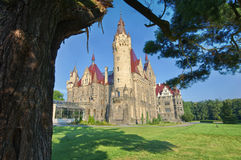 Castle in Moszna Royalty Free Stock Image