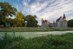 Castle Moszna, Poland Stock Photos