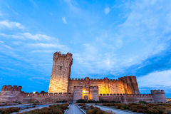 Castle of the Mota Stock Images