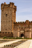 Castle of the mota in medina del campo,valladolid,spain Stock Photography