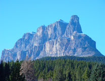 Castle Mountain Royalty Free Stock Photo