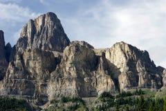 Castle Mountain, Banff National park Stock Photos