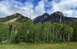 Castle Mountain, Banff National Park, Alberta, Canada Royalty Free Stock Images