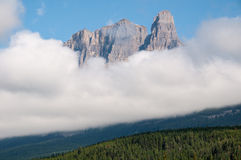 Castle Mountain Banff National Park Royalty Free Stock Photo