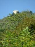 Castle mountain Stock Photography