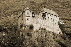 Castle in North Italy Royalty Free Stock Photo