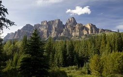 Castle mountain Royalty Free Stock Photos