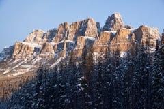 Castle mountain view Stock Photo