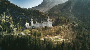 Castle in mountains Stock Photography
