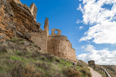 Castle in the mountains Stock Photography
