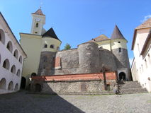 Castle in Mucachevo. Ukraine. Stock Images