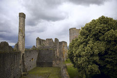 Castle Muenzenberg Stock Photos