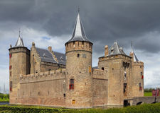 Castle Muiderslot. Was part of the Defence Line of Amsterdam Stock Photography