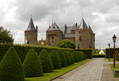 Castle Muiderslot. Was part of the Defence Line of Amsterdam Royalty Free Stock Image