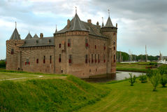 Castle Muiderslot Royalty Free Stock Images