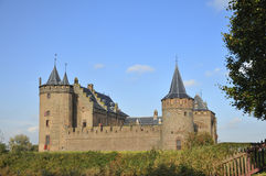 Castle Muiderslot in Holland Stock Images