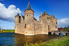 Castle muiderslot - Netherlands Royalty Free Stock Image