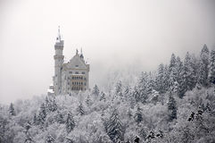 Castle in Munich. The castle of Ludwig II of Bavaria, Neuschwanstein Stock Photos
