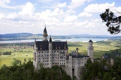 Castle in Munich stock image