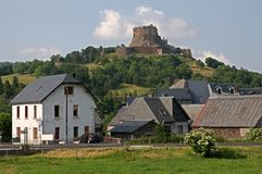 Castle Murol, France Royalty Free Stock Images
