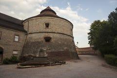 Castle in Nachod Stock Photo