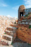 Castle in Nafplio. Part of Palamidi catle in Nafplio Stock Images