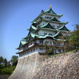 Castle in Nagoya, Japan Royalty Free Stock Image