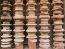 Castle @ Nakorn Raja Srima/ Thailand. The oriental stone temple in Thailand Stock Photo