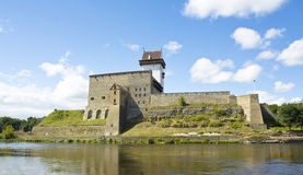 Castle in Narva, Estonia Stock Images