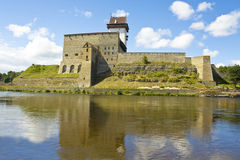 Castle in Narva, Estonia Stock Photo