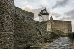 Castle in Narva, Estonia Royalty Free Stock Photography