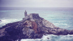 Castle near the sea Stock Photography