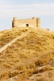 Castle near Villar de la Encina Stock Photos