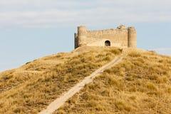 Castle near Villar de la Encina Stock Photography