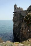 Castle near Yalta, Swallow nest Royalty Free Stock Photography