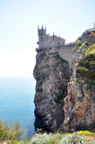 Castle near Yalta, Swallow nest Royalty Free Stock Image
