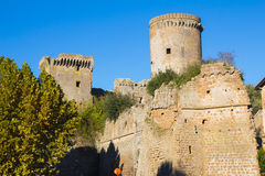 The castle of Nepi, Lazio Royalty Free Stock Image